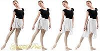 Женская Юбка хитон балетный B1S10xx GISELLE Grand Prix Цвет Белый Размер S Материал Полиэстер