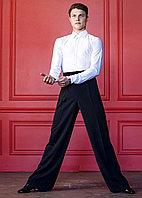 Брюки мужские с лампасами Patric MBPV10A Grand Prix Цвет Черный Размер S Материал Полиэстер
