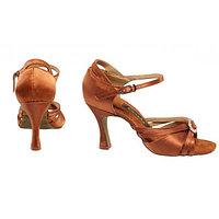 Туфли бальные женские сатин Margarita BR31032S Sansha Цвет TAN Размер 9 Материал Сатин