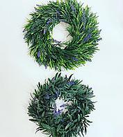 Венок для декора,оригинальный ,разных размеров, диаметр 20 см ,15 см