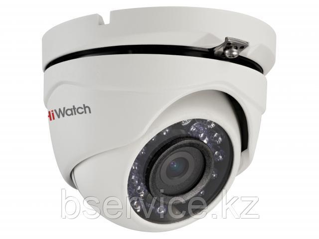 Купольная HD-TVI видеокамера HiWatch DS-T203(B)