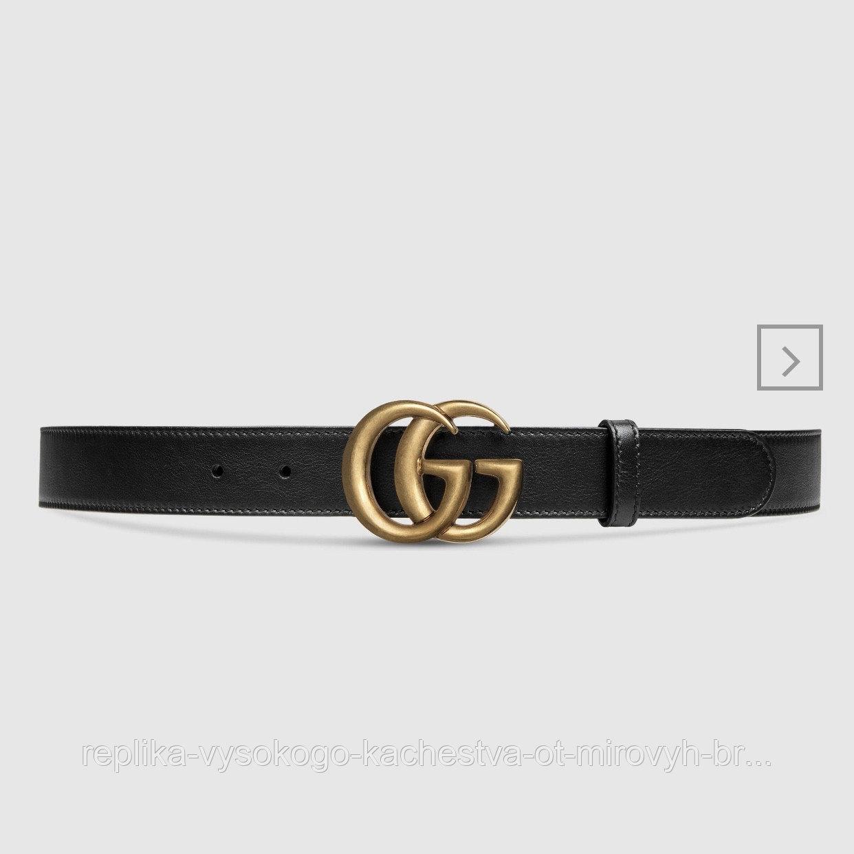 Ремень Gucci с пряжкой GG