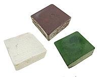 Набор для полирования N2, ПЕТРОГРАДЪ, полиров.паста 600, 1200 и 2000 грит, 3 бруска