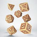 Набор игральных костей Викинги: бежевый/бордовый (7 шт.), фото 4