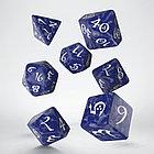 "Набор кубиков ""Классика"", 7шт., Cobalt/White, фото 3"