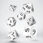 """Набор кубиков """"Классика"""", 7шт. бело-черный Эльф, фото 2"""