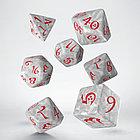 """Набор кубиков """"Классика"""", 7шт., бело-красный, фото 2"""