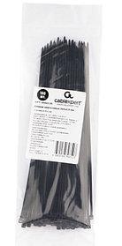 Стяжки Cablexpert NYT-200x2.5В пластиковые 200 мм х 2.5 мм, чёрные (100 шт.)