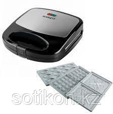 Сэндвичница Scarlett SC-TM11038 (3в1) черный
