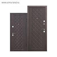 Дверь входная Kamelot Винорит Вишня темная 2050х860 (правая)