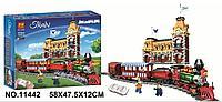 Конструктор LARI «Поезд и станция Disney» арт.11442 (Аналог LEGO 71044), 3019 дет.