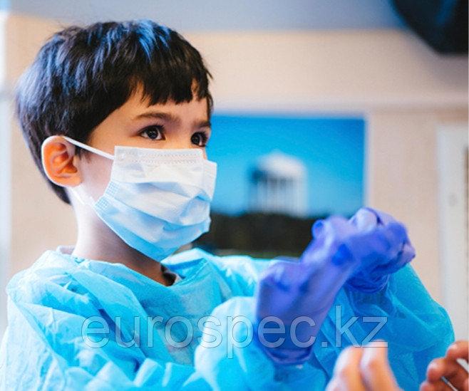 Медицинские маски детские. оптом свыше 1000 шт по 34