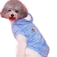 Тёплая безрукавка для собак