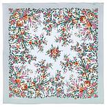 Шелковый платок Цветочное настроение 1732-6 (89х89см), фото 4