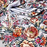 Шелковый платок Цветочное настроение 1732-6 (89х89см), фото 7