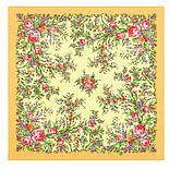 Шелковый платок Цветочное настроение 1732-6 (89х89см), фото 8