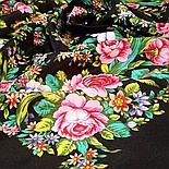 Шелковый платок Цветочное настроение 1732-6 (89х89см), фото 10
