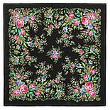 Шелковый платок Цветочное настроение 1732-6 (89х89см), фото 5