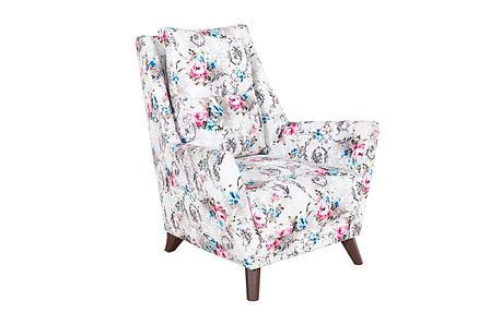 Кресло традиционное Дали, ТК228 Розы, Нижегородмебель и К (Россия), фото 2