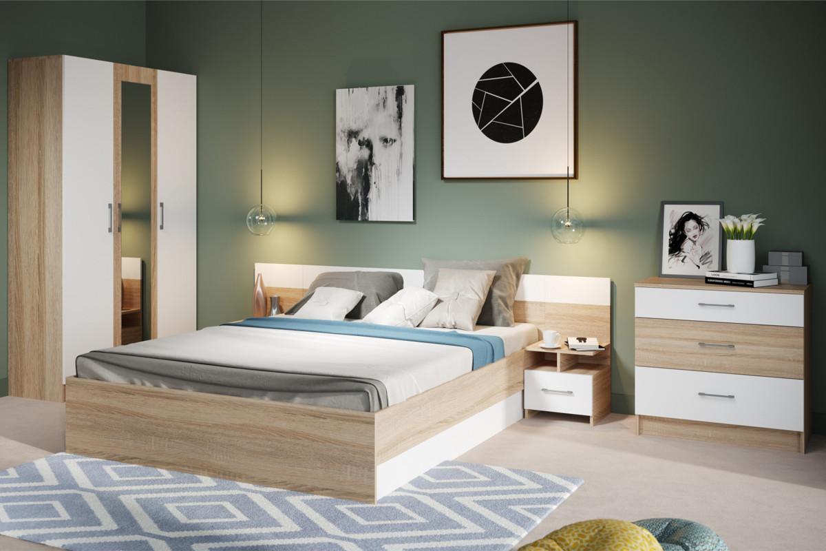 Комплект мебели для спальни Алена, Белый, Империал(Россия)