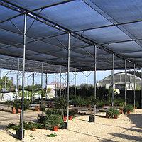 55гр/м2 4мх50м Фасадная сетка для укрытия строительных лесов. Универсальная Пылеулавливающая
