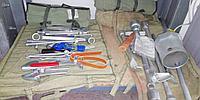 Набор слесарно-шоферского инструмента Механизатор цинк2исп в сумке