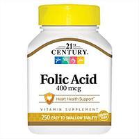 БАД Фолиевая кислота 400 мкг (250 таблеток)