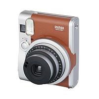 Моментальная фотокамера fujifilm instax mini 90 коричневый
