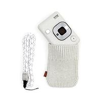 Моментальная фотокамера fujifilm instax mini liplay белый