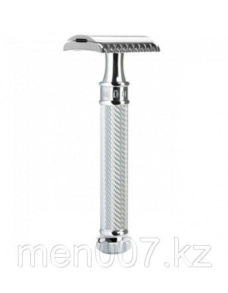 Muehle R41 Grande с удлиненной ручкой (двусторонняя бритва)