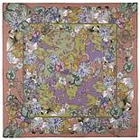 Павлопосадский хлопковый платок 10599-16 (115х115см), фото 3
