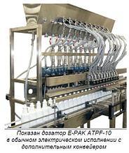 Автоматическое оборудование E-PAK ATPF-14 для объемного дозирования.