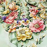 Павлопосадская шаль Праздник души 1681-15 (130х130см), фото 3