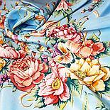 Павлопосадская шаль Праздник души 1681-15 (130х130см), фото 5