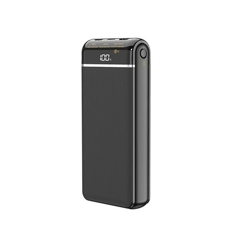 Power Bank с быстрой зарядкой Remax RPP-109 Musa QC3.0 + PD (20000 mAh, Black)