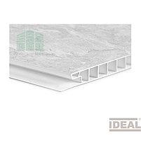 """Стеновая ПВХ панель """"Идеал Ламини"""" 516 (венеция светло-серая), фото 2"""