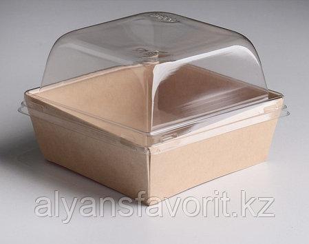 Упаковка ECO Prizma 550 мл.,размер: 128x128x45 мм. РФ, фото 2