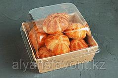 Упаковка ECO Prizma 550 мл.,размер: 128x128x45 мм. РФ