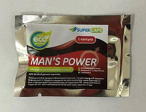 """Возбуждающее мужское средство """"Man's Power"""" с L-carnitin, 1 капсула"""