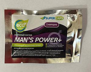 """Возбуждающее мужское средство """"Man's Power plus"""", 1 капсула"""