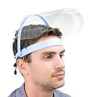 Антизапотевающий защитный экран откидной для лица Щиток-экран для лица