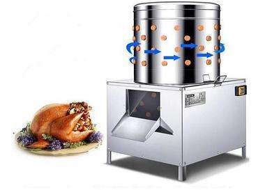 Перосъемная машина для куриц, уток и гусей