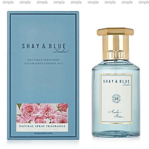 Shay & Blue Amber Rose парфюмированная вода объем 100 мл тестер (ОРИГИНАЛ)