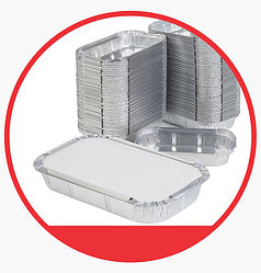Алюминиевые контейнеры с L-краем