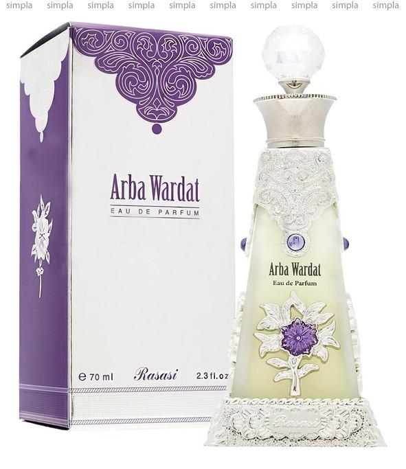 Rasasi Arba Wardat парфюмированная вода  (ОРИГИНАЛ)