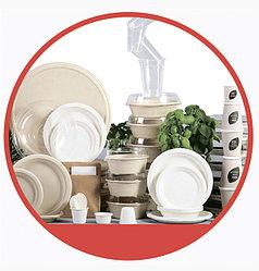 Одноразовая посуда и предметы сервировки стола - DUNI