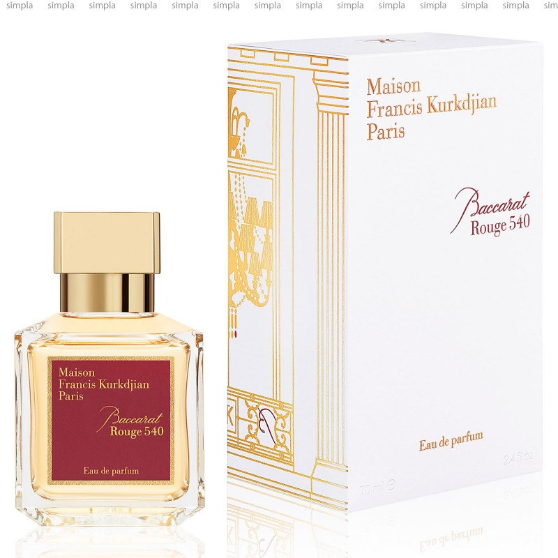 Maison Francis Kurkdjian Baccarat Rouge 540 парфюмированная вода объем 5*11 мл тестер (ОРИГИНАЛ)