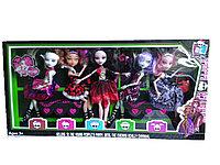 Monster набор из 5 кукол(аналог Monster High(Школа Монстров)), фото 1