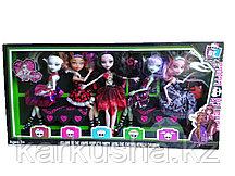 Monster набор из 5 кукол(аналог Monster High(Школа Монстров))