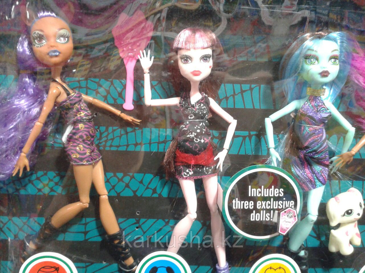 My Monster набор кукол(5шт), аналог Monster High